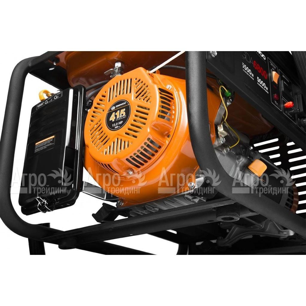генератор hyundai hy7000le схема