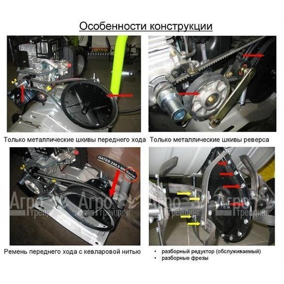 двигателем Subaru-Robin EX