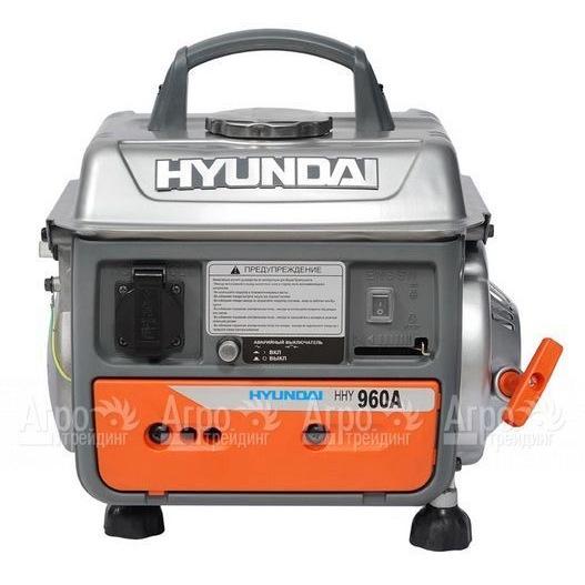 бензогенератор hyundai 900