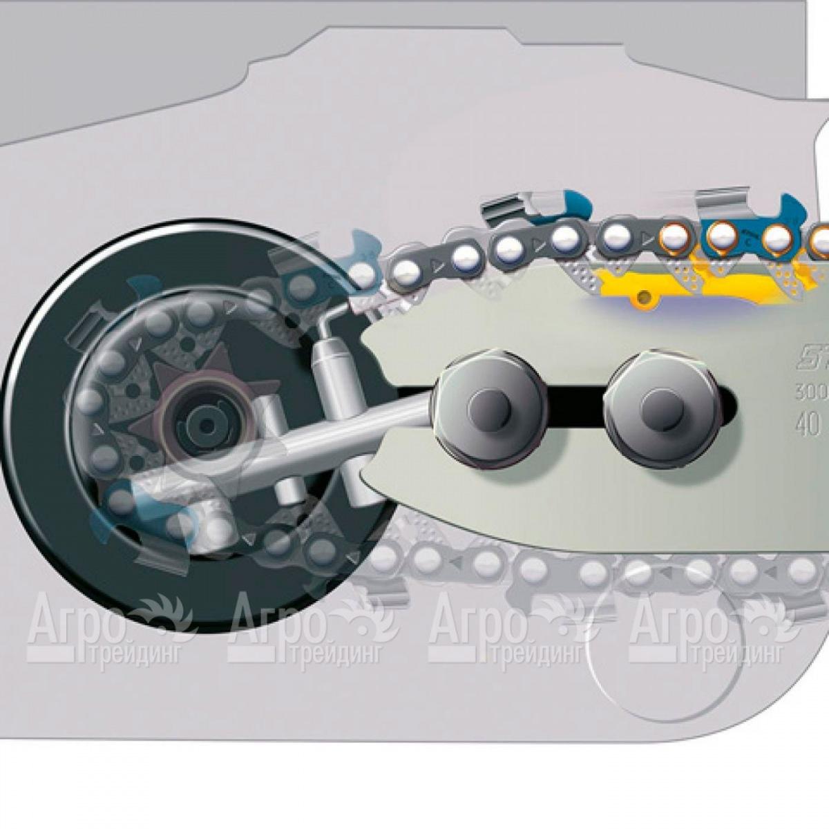Схема смазки цепи штиль 180