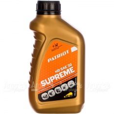 Масло Patriot Supreme HD SAE 30 592 мл