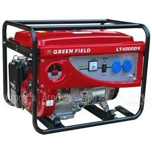 Бензиновый генератор Green Field LT 4500 DX 3,2 кВт