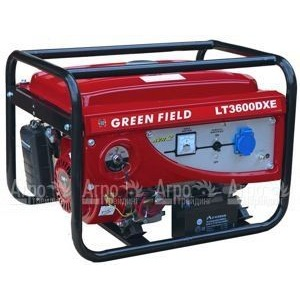 Бензиновый генератор Green Field LT 3600 DX 2,5 кВт