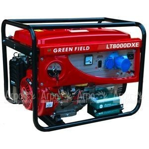 Бензиновый генератор Green Field LT  8000 DXE 6,0 кВт