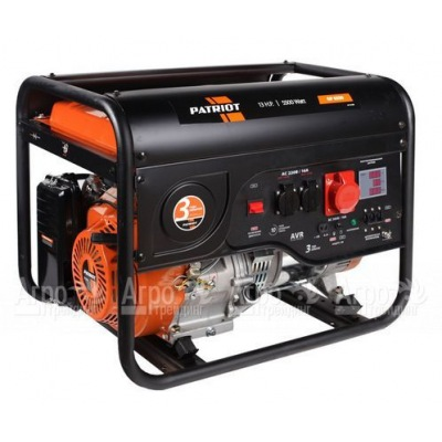 Бензогенератор Patriot GP 6530 5 кВт
