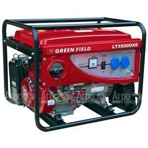Бензиновый генератор Green Field  LT 5500 DXE 4 кВт