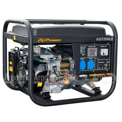 Бензиновый генератор ITC Power GG7200LE 5,0 кВт
