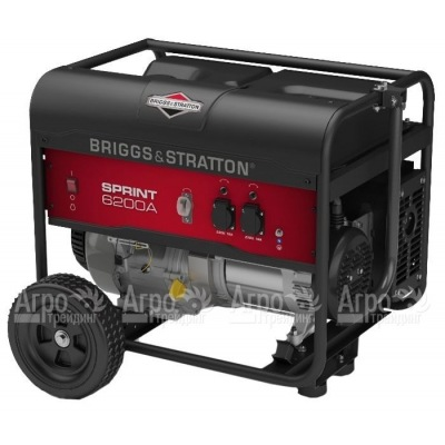 Бензогенератор Briggs&Stratton Sprint 6200A 4.9 кВт