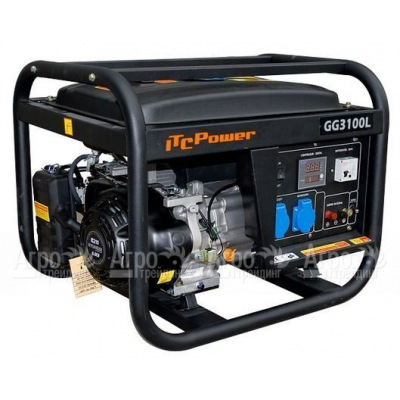 Бензиновый генератор ITC Power GG3100L 2,5 кВт